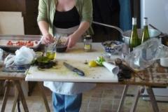 Cuisinières en action